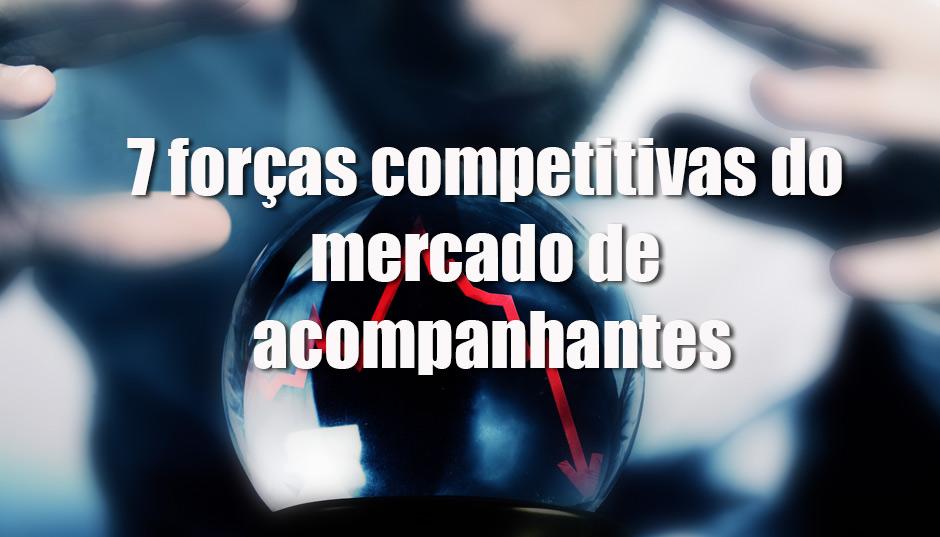 As 7 forças competitivas que atuam sobre o mercado de acompanhantes no DF.