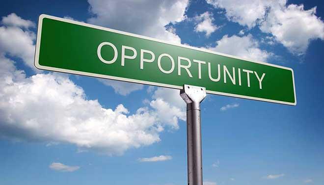 Uma oportunidade
