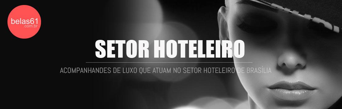 Acompanhantes e garotas de programa no setor hoteleiro de Brasilia.